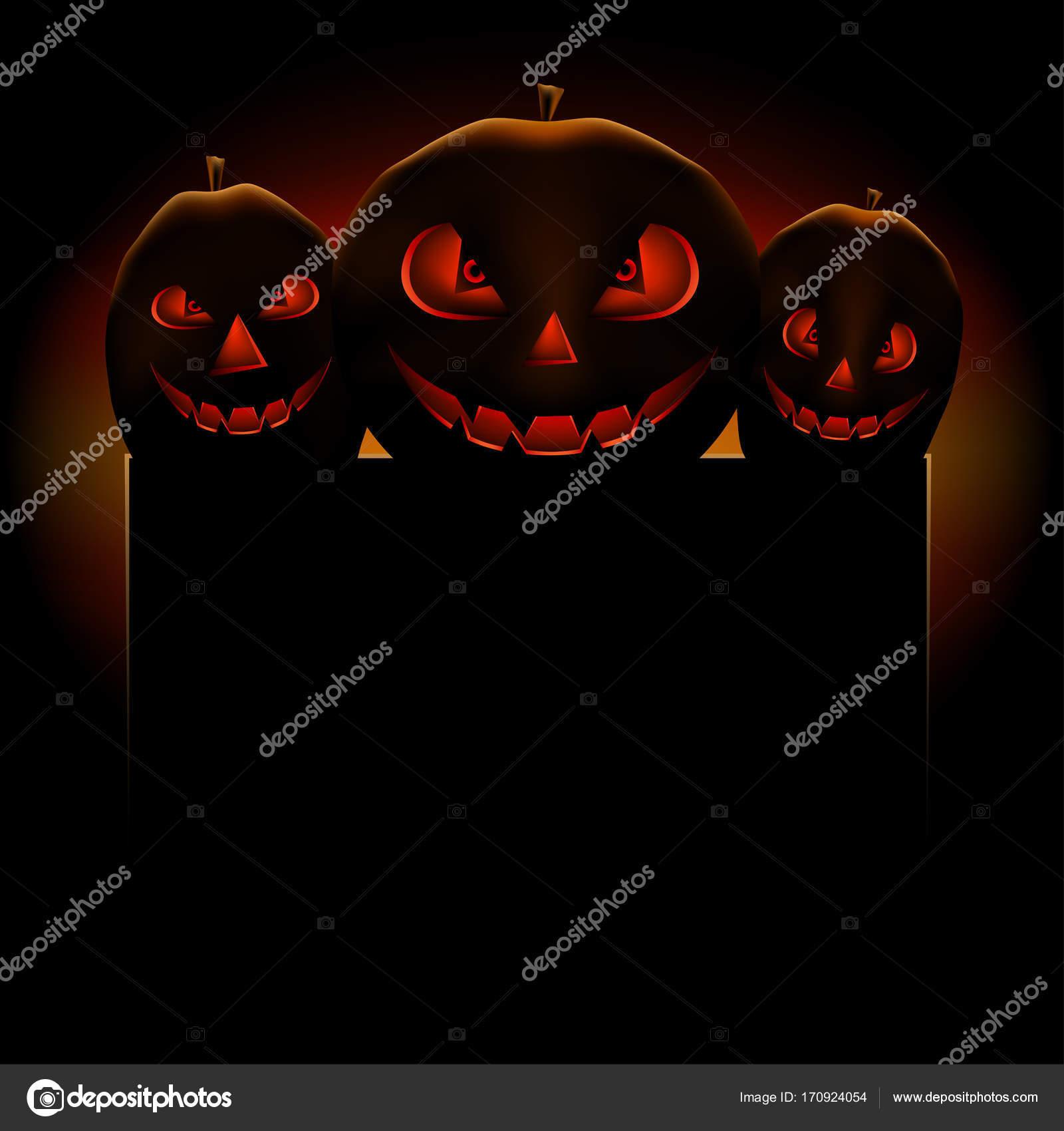 Sjabloon Pompoen Halloween.Halloween Pompoen Tekst Sjabloon Stockvector C Romvo79