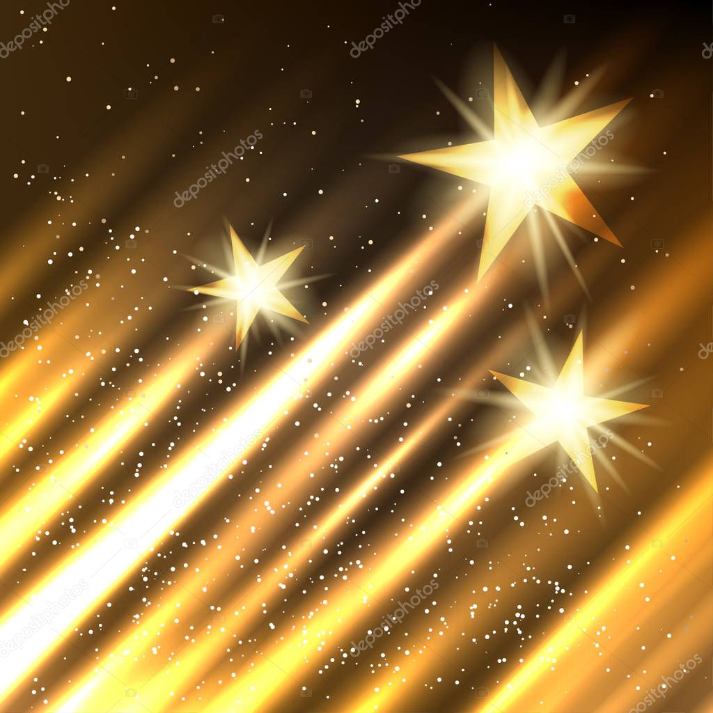 Hollywood Stars growth background