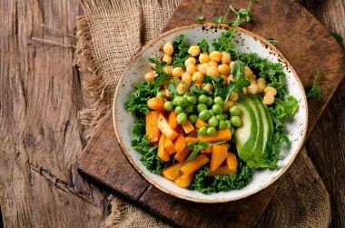 Vegetarian buddha bowl.