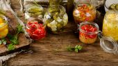 Photo Fermented preserved vegetables