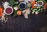 Bio Gemüse und Hülsenfrüchte-set