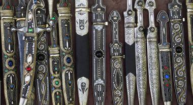 Traditional Georgian daggers