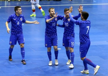 UEFA Futsal Euro 2018 qualifying tournament in Kyiv