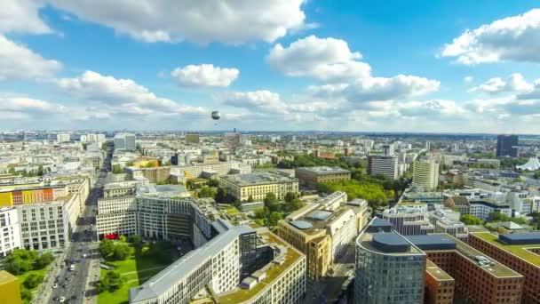 Luftaufnahme des Berliner Zentrums, Deutschland