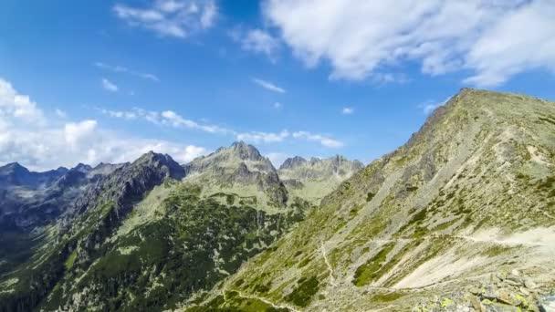 Malebné letní pohled na Vysoké Tatry, Slovensko