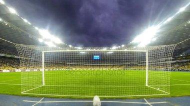 Ukrainian Premier League game FC Dynamo Kyiv v Zorya