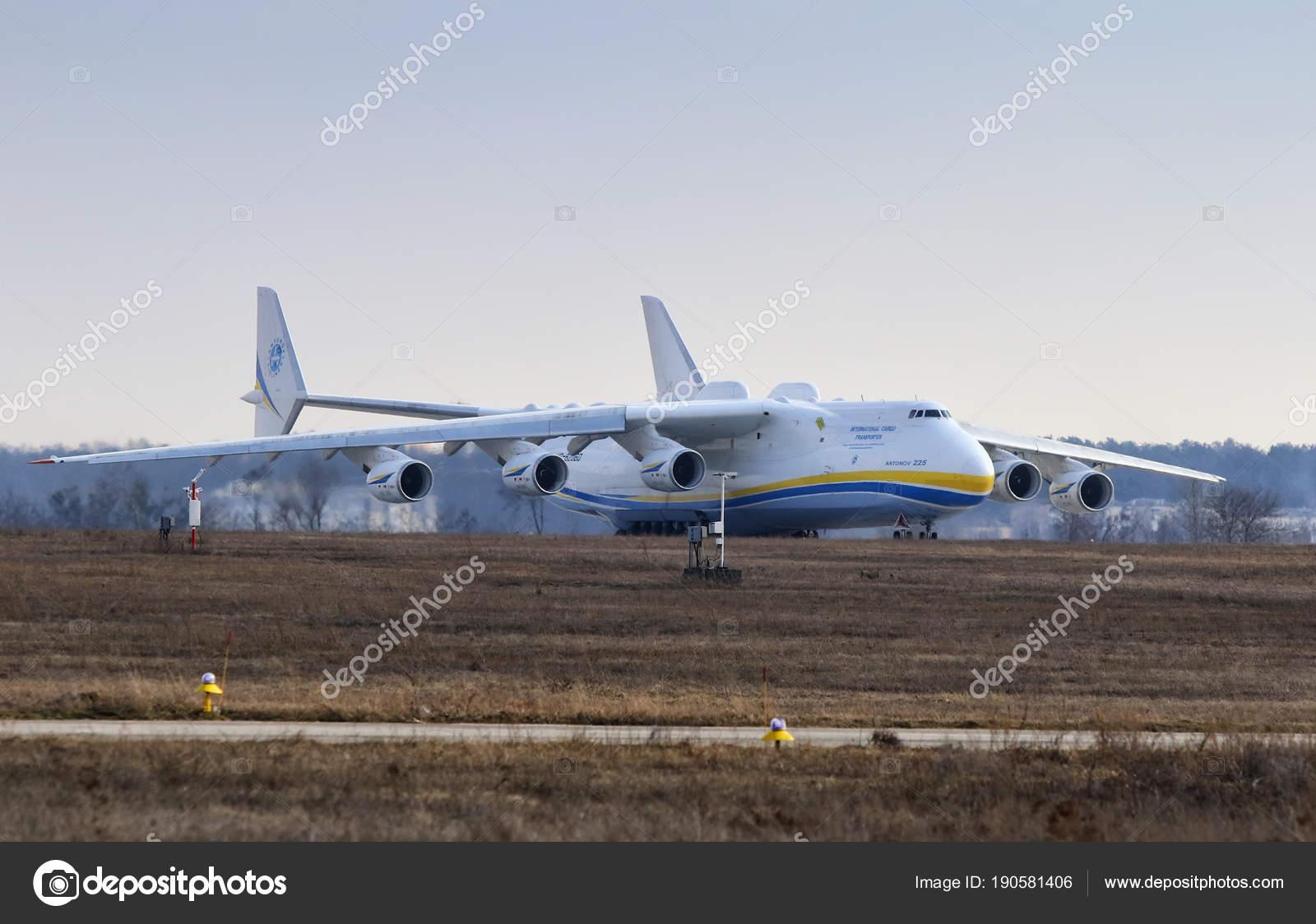 Aeroporto Kiev : Antonov an mriya aeronaves no aeroporto de gostomel kiev