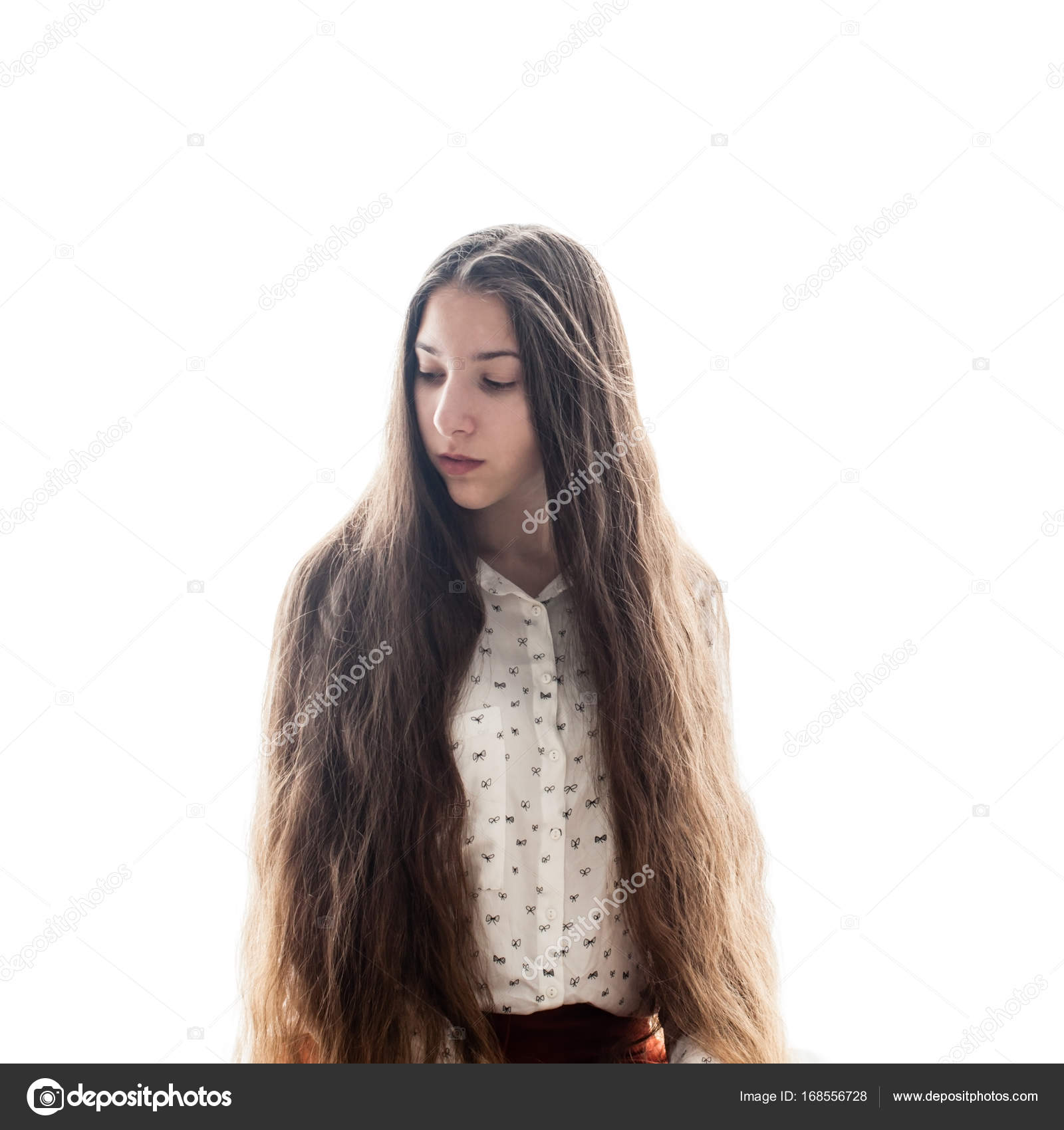 pelo largo blanco pequeña cerca de Elche