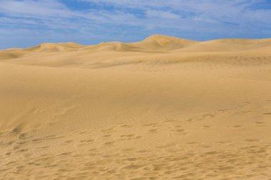 Desert in Canary island Gran Canaria