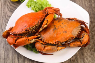 Delicious Boiled crab