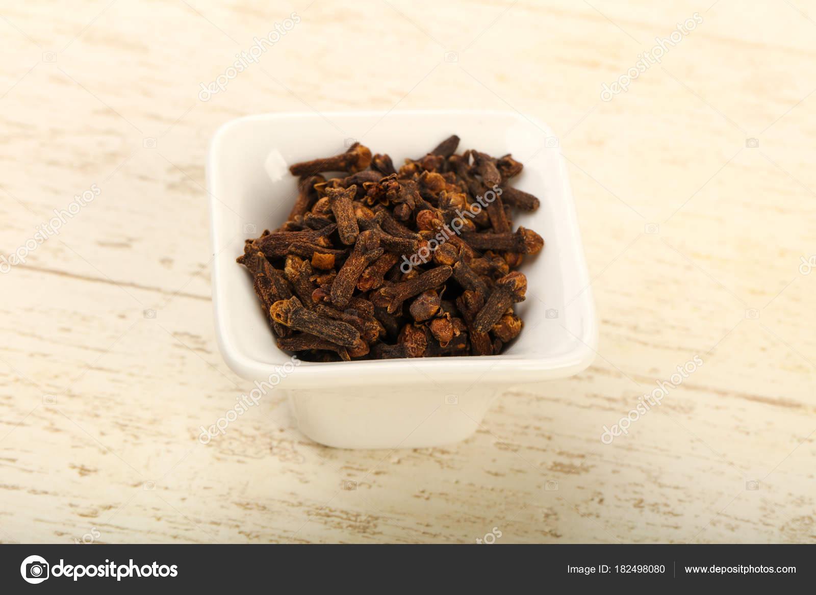 Nelken Samen Der Schale Cpice Für Die Küche — Stockfoto © AndreySt ...