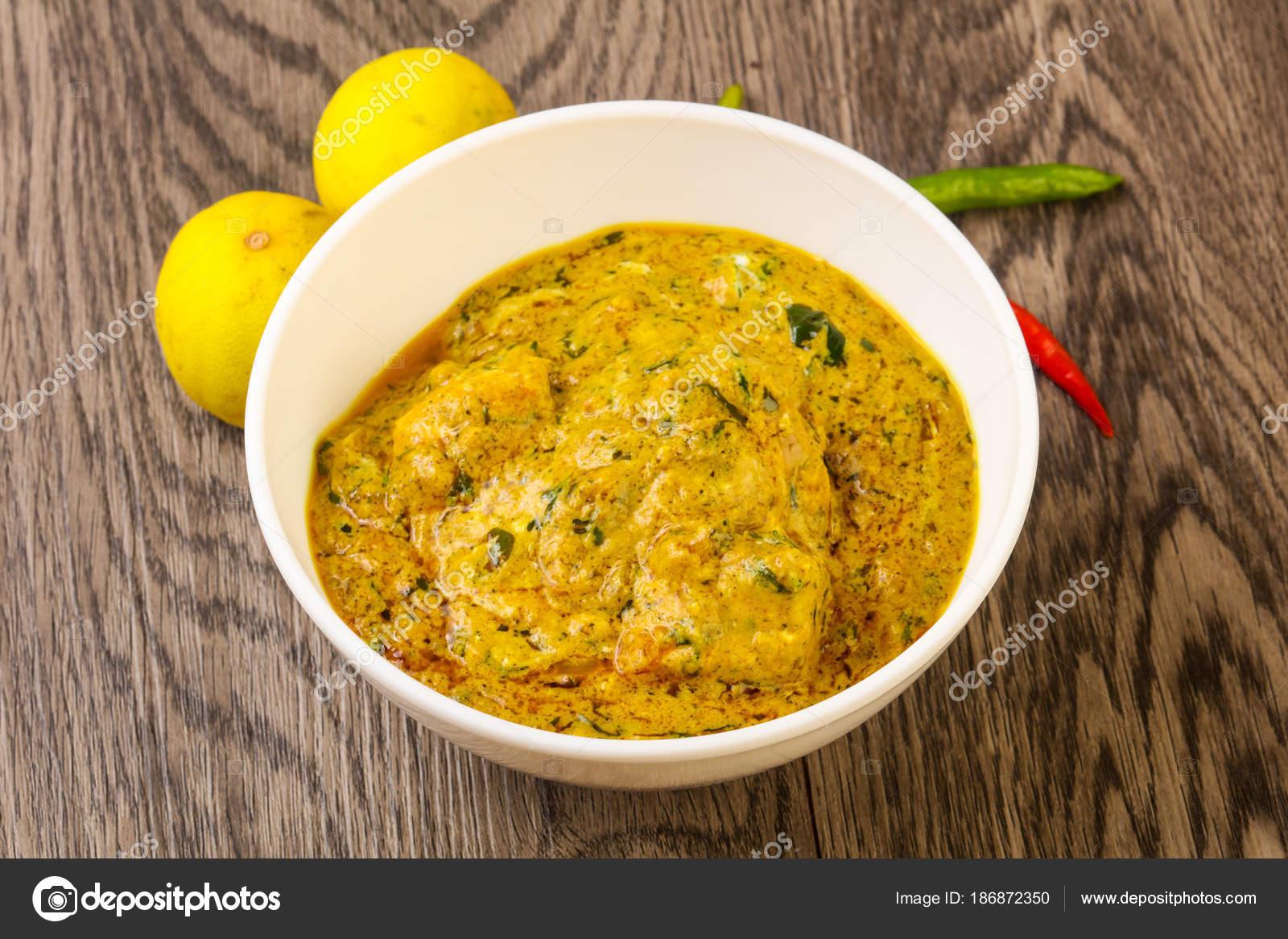 Indische Küche Chicken Tikka Masala — Stockfoto © AndreySt #186872350