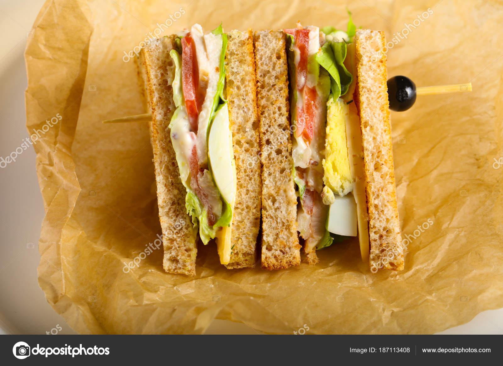 Klüp Sandviç (peynirli)