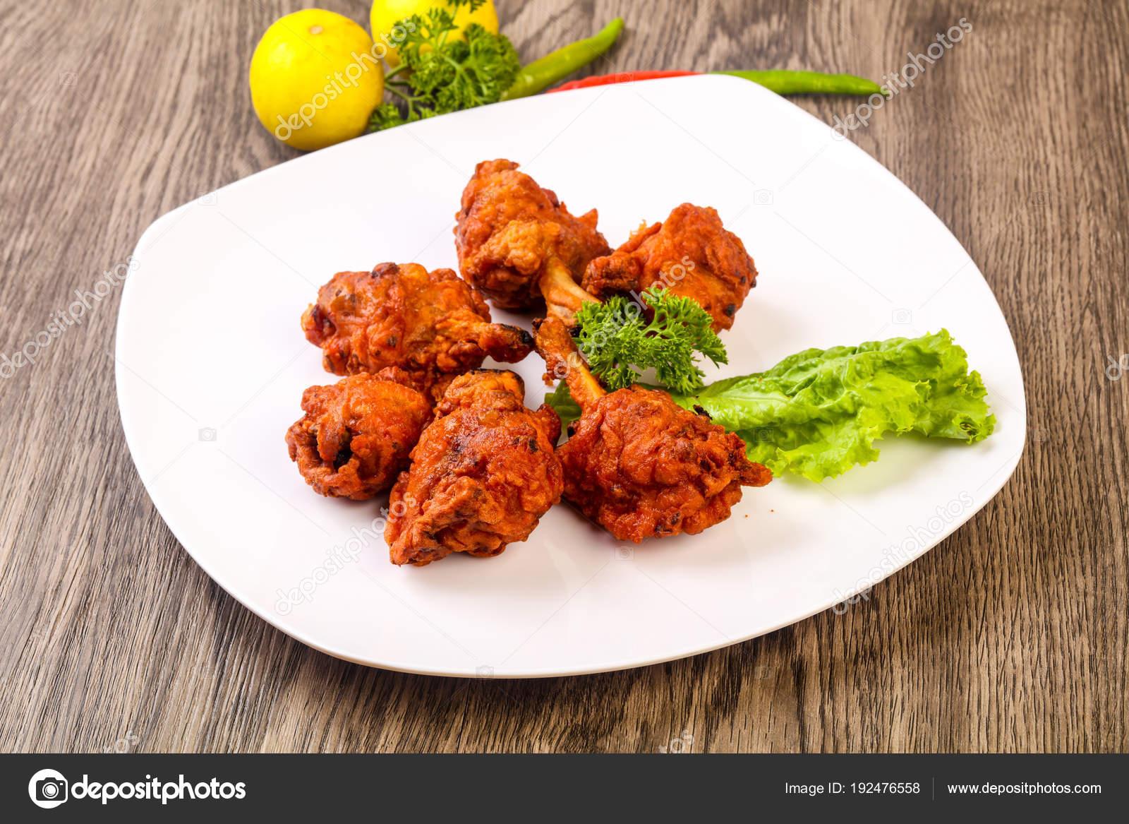 Indische Küche Huhn Lutscher Mit Gewürzen — Stockfoto © AndreySt ...