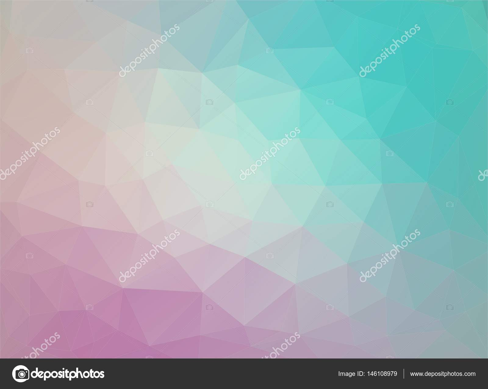 Flat Duocolor Geometric Triangle Pattern Wallpaper Vector Background By Ishmel