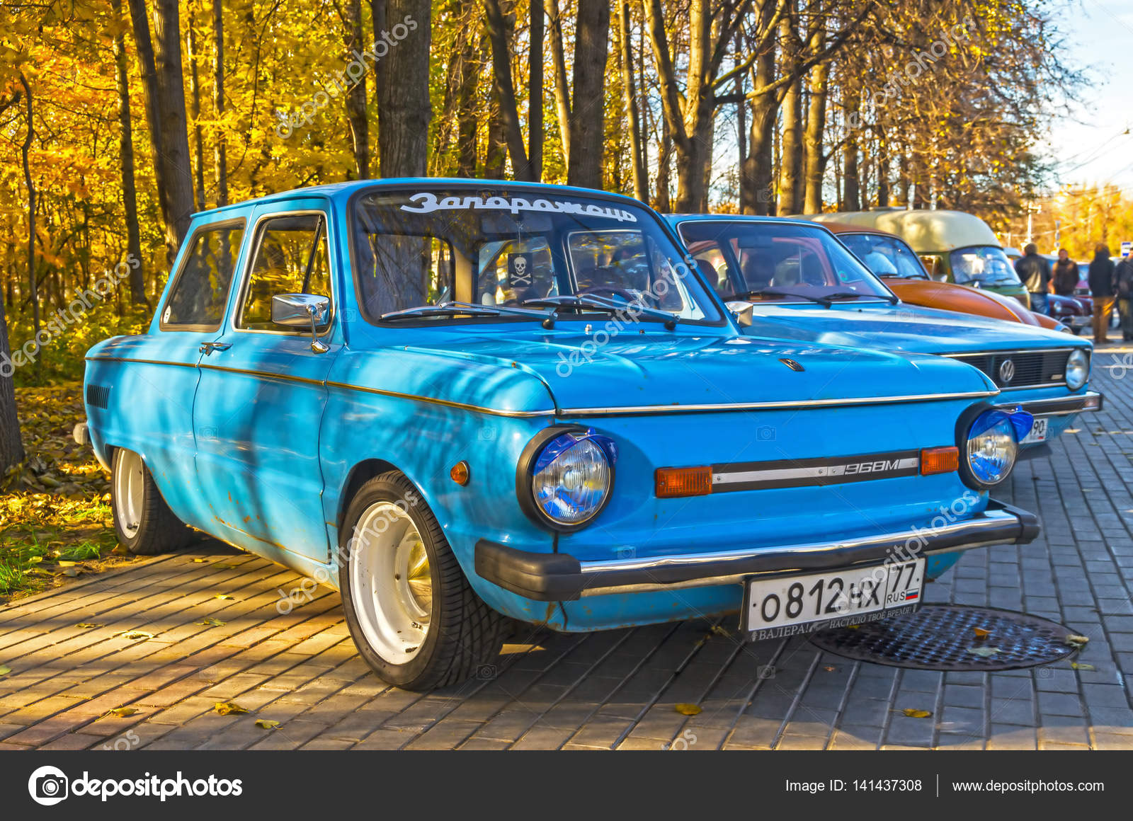 Old Soviet car Zaporozhets ZAZ-968M – Stock Editorial Photo ...
