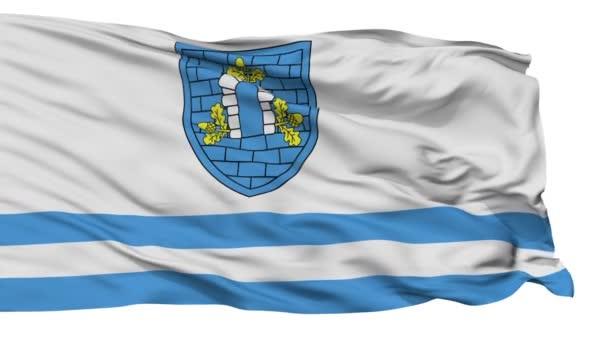 Izolované Dubrouna městská vlajka, Bělorusko