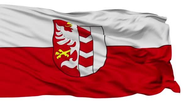 Izolované Opava vlajka městská vlajka, Česká republika