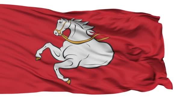 Izolované Pardubice městská vlajka, Česká republika