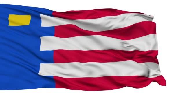 Izolované Baarle Nassau městská vlajka, Nizozemsko