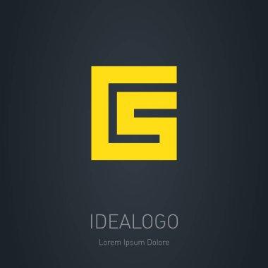 CS initial logo