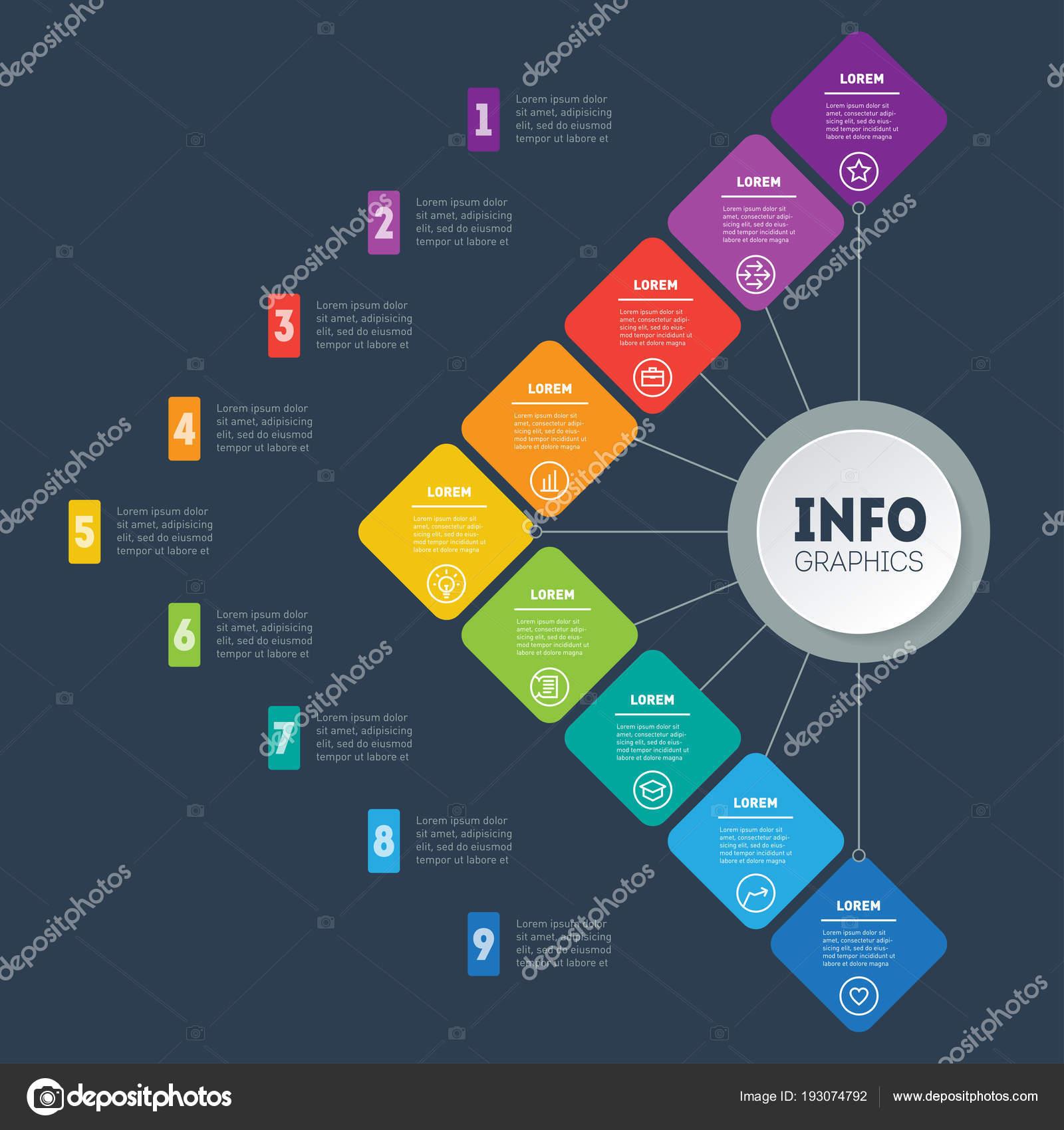 Concepto Presentación Negocio Con Opciones Plantilla Web Ventas ...