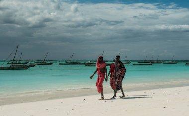 Masai on Zanzibar coast