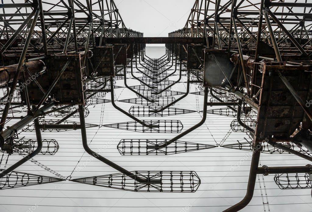 Soviet radar station in Chernobyl