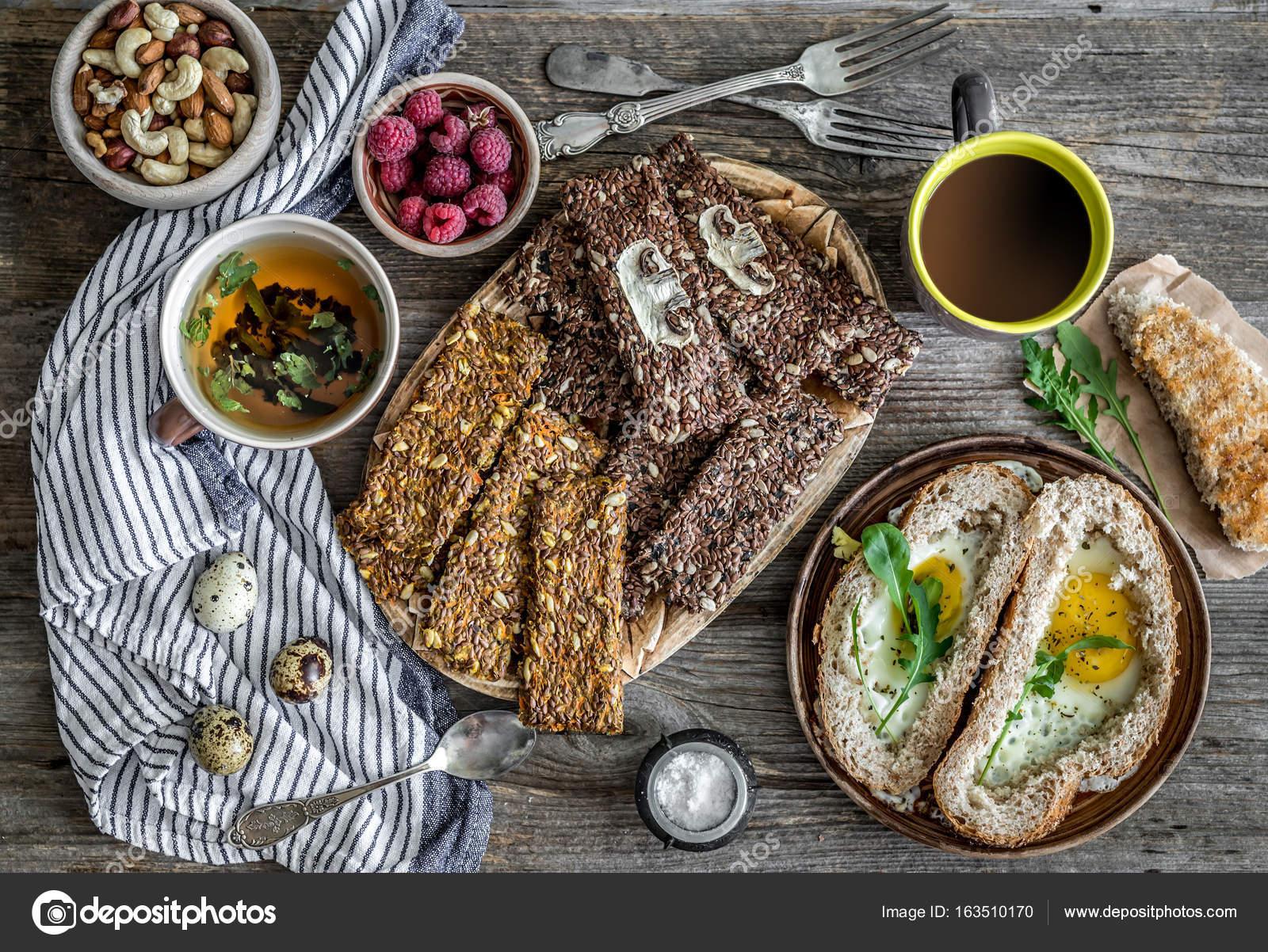 desayuno de dieta saludable