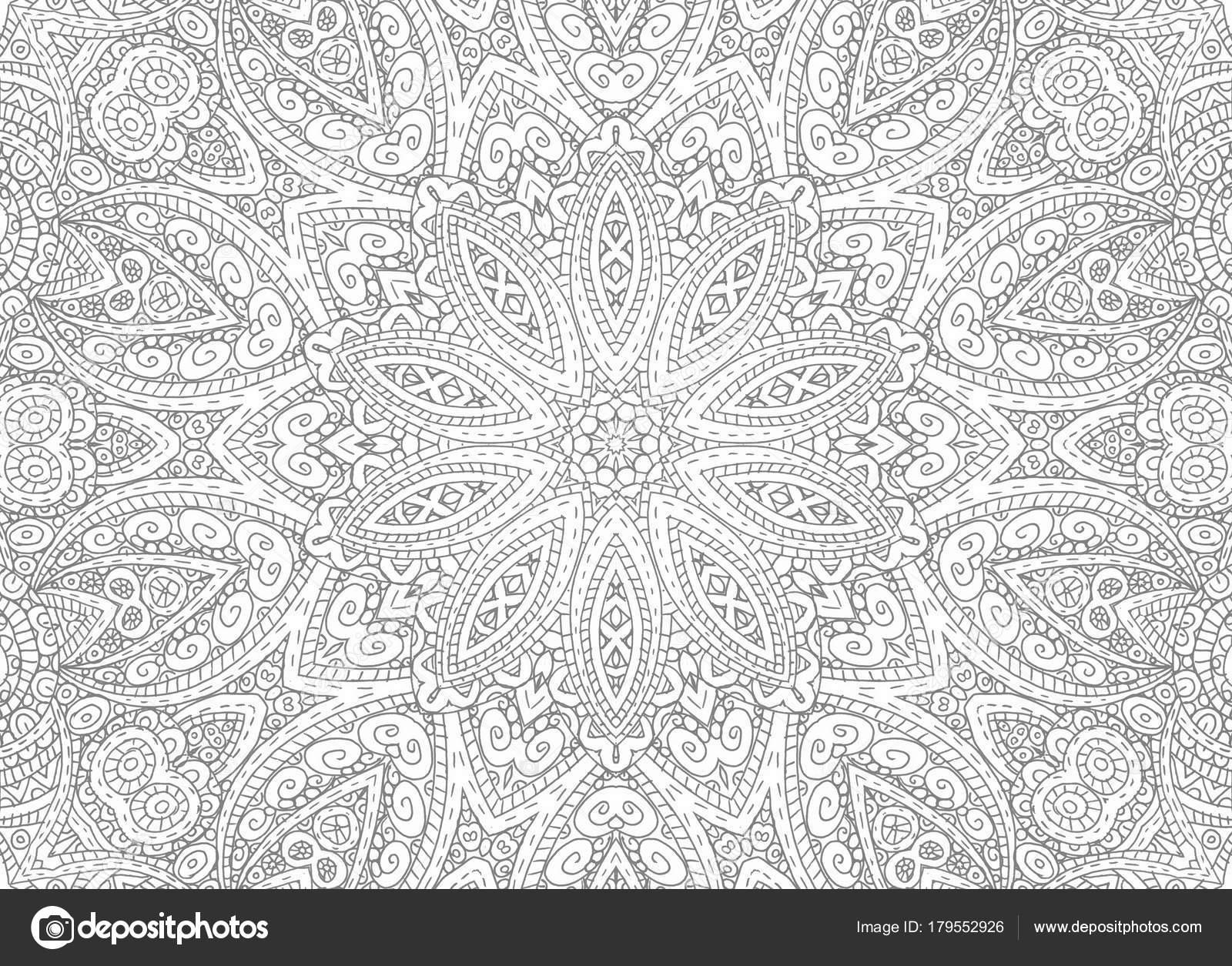 Zeichnen Von Linien Konzentrischen Abstraktes Muster Stockfoto