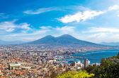 Fotografia Napoli e il Vesuvio in Italia