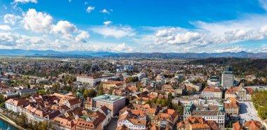 """Картина, постер, плакат, фотообои """"Любляна в Словении в летний день"""", артикул 125818920"""