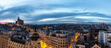 Madrid on a beautiful summer night