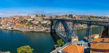 Porto in Portugal on summer day