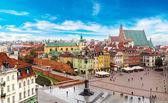 Fotografia Varsavia in un giorno destate in Polonia