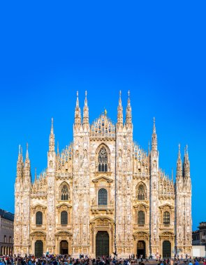 Milan Cathedral on summer day, Duomo