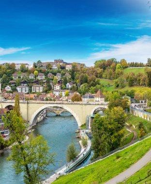 Bern in a summer day in Switzerland