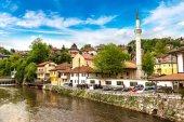 Fényképek Szarajevó történelmi központja