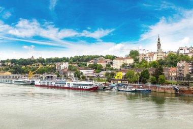 Belgrade cityscape in a summer day