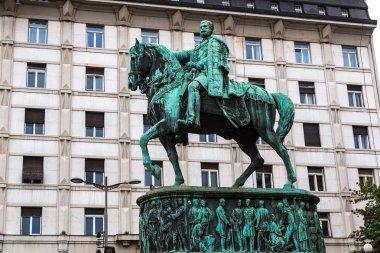 Prince Michael statue in Belgrade