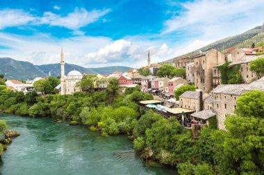 Historical center in Mostar