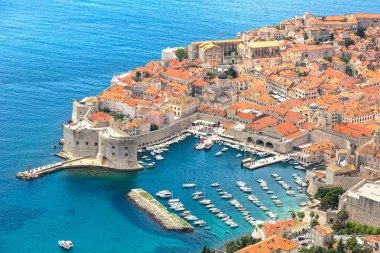 city Dubrovnik in summer