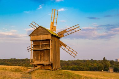 Traditional windmill in Pirogovo