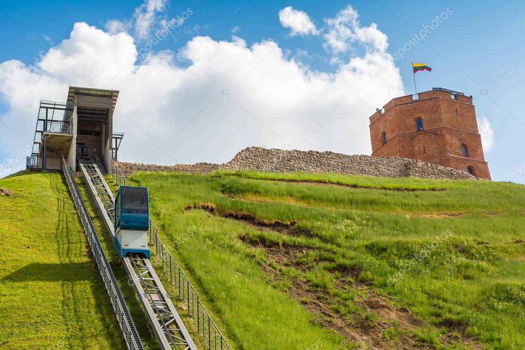 Funicular to Gediminas tower