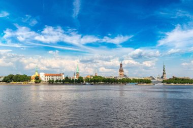 view of Riga in summer day