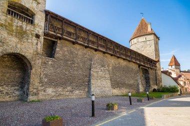 Fortress towers in Tallinn