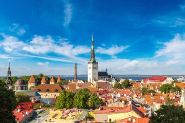 Tallinn in beautiful  day