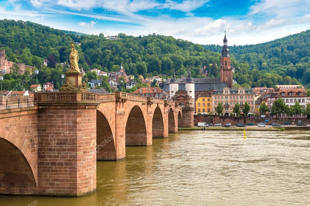 Heidelberg in beautiful summer day