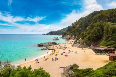 Beache in Lloret de Mar