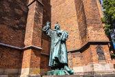Fotografie Statue von Martin Luther in Hannover